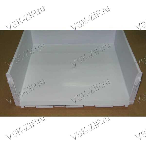 Ящик холодильника средний 414x146x359 белый