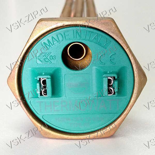 ТЭН RCT TW3 PA 1500W-230V гнутый, резьба 42мм. Thermowatt