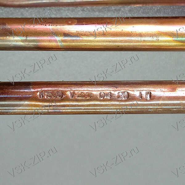 ТЭН RCF PA 1500W-220V M6 короткие клеммы Ariston, Thermex