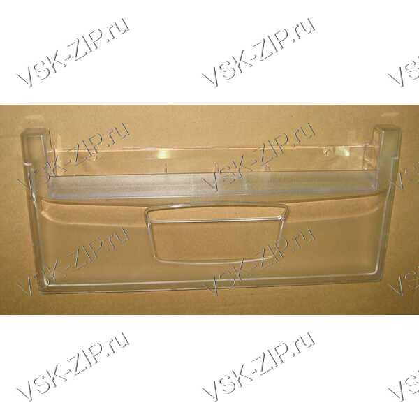 Панель нижнего ящика м/о (430X197) прозрачная