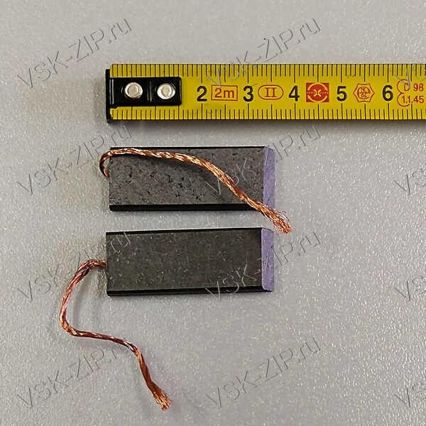 Щетки 5x13,5x35 для электродвигателя, провод от центра (комплект 2шт.)